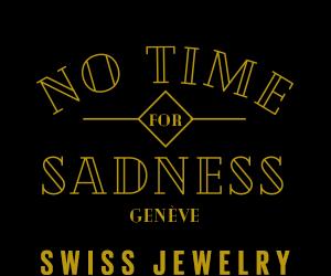 no time for sadness